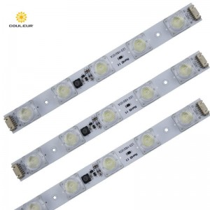 Edge-lit led strip light with UL