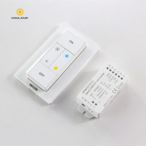 Dimmer for double color led strip