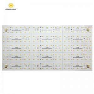 Double color soft led backlight Panel