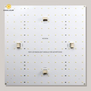 Single color backlight led panel