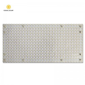 Soft led backlight panel