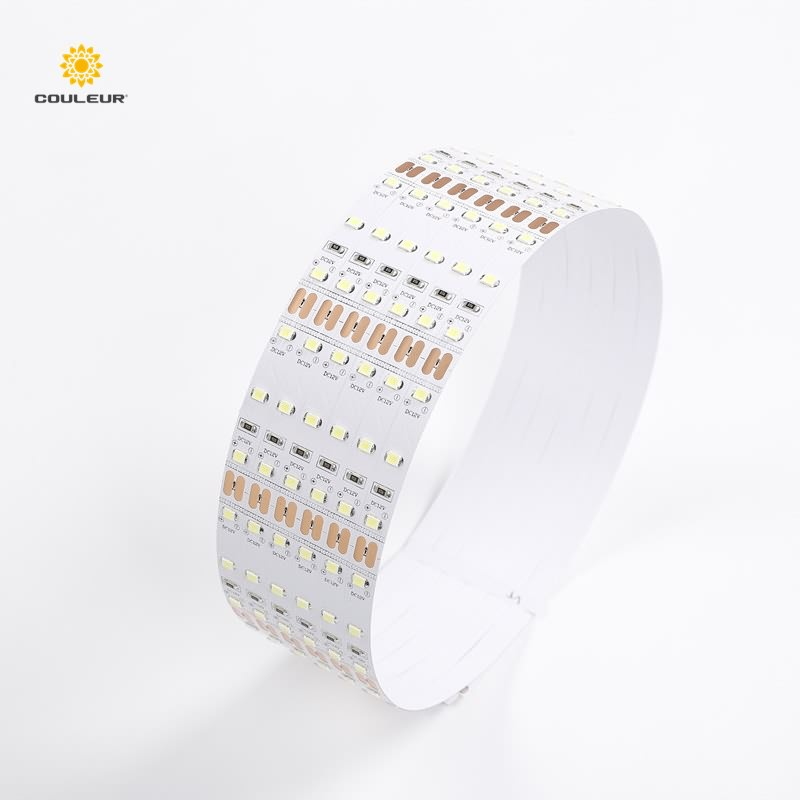 high bright high illumination led strip light 5 meter reel for