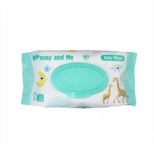 72 wipes Household Fragrance Clean Baby Wipes