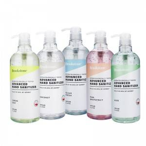 75% Advanced Customizable Alcohol Antibacterial Hand Sanitizer Gel