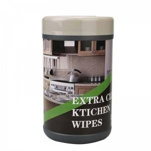 Quickly clean up kitchen wipes