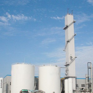Cryogenic medium size liquid oxygen gas plant