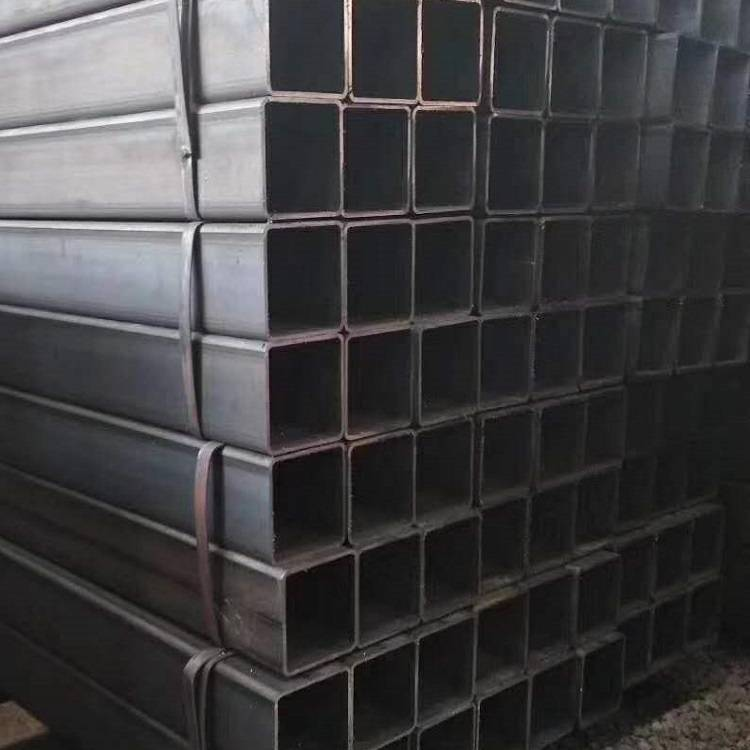 EN Standard Mild Steel Ms Carbon S235 S335 Black Steel Square Rectangular Hollow Section Pipe Tube