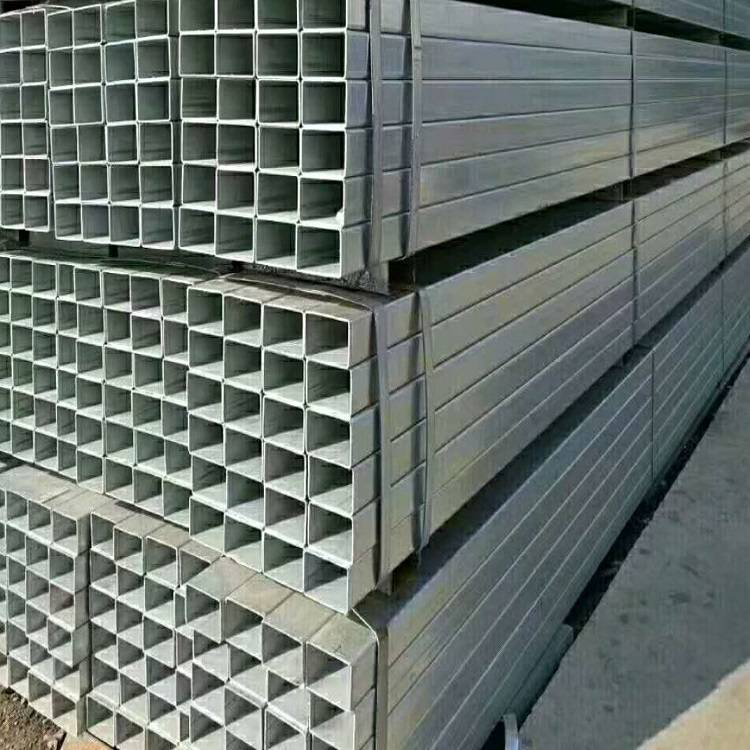 Q195 SS330  SS400 Pre Galvanized Hollow Section Square Tube