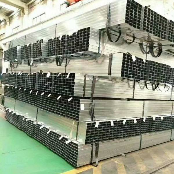 Wholesale Polished Chrome Square Tubing Quotes - Pre Galvanized Shs Steel Tube – TOPTAC