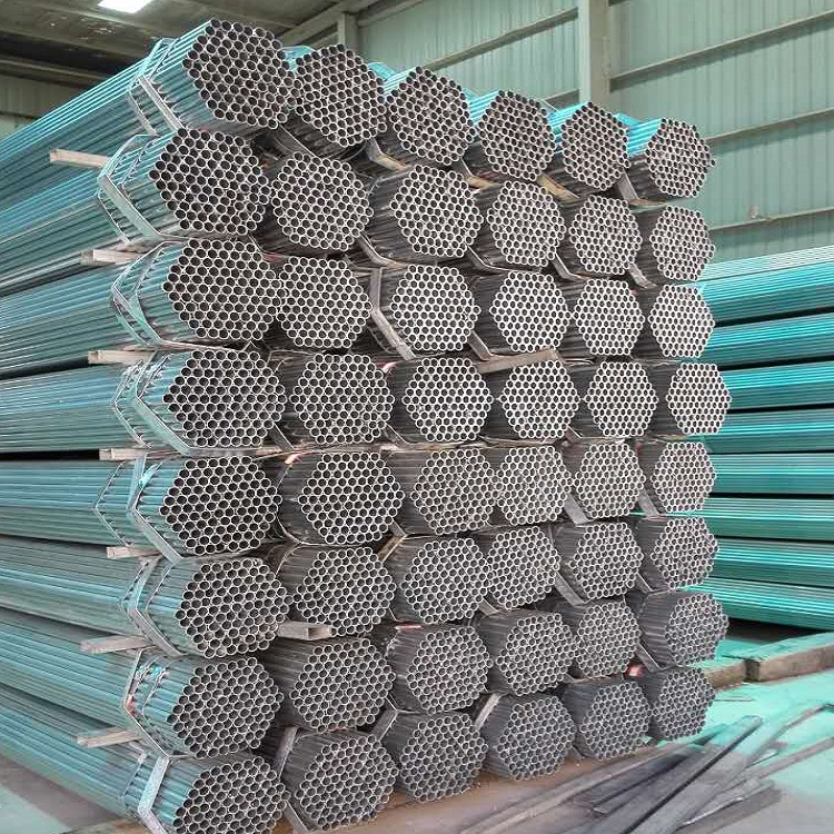 BS 1139 Galvanized Scaffolding Steel Pipe Hot Sale In UK Market