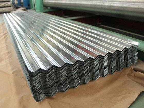 SGCC DX51D SGLCC Hot Dipped Galvanized Corrugated Steel / Iron Roofing Sheets Metal Sheets