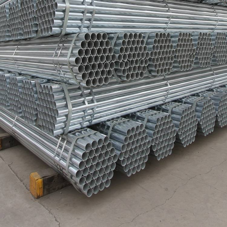 JIS G3466 STK400 Pre Galvanized Round Steel Pipes For Scaffolding Systems
