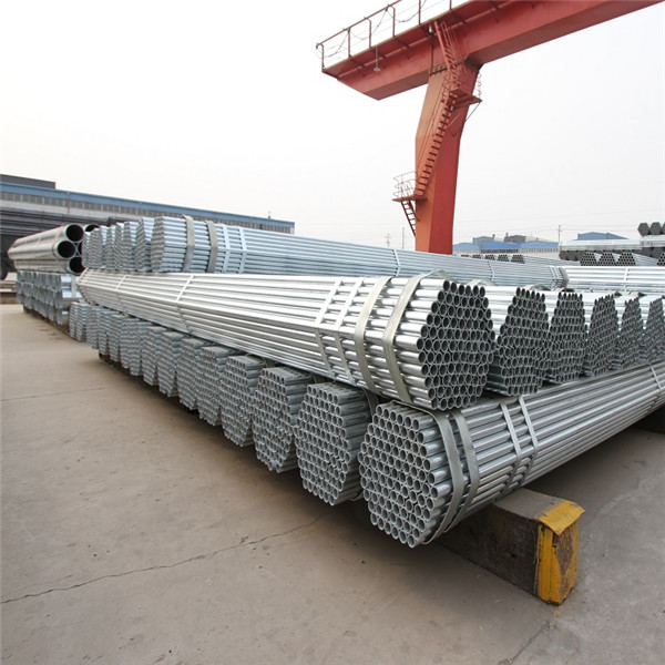BS1139 Hot Dipped Galvanized Scaffold Tubes