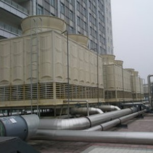 Induced Draft Cross-flow Towers for Power Generation, Large-scale HVAC and Industrial Facilities