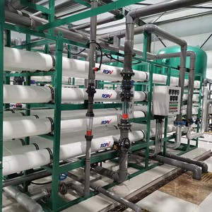 ICE Industrial Reverse Osmosis System for Cooling Tower Water System