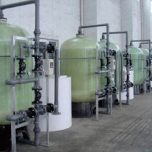 ICE Industrial Water Softener System for Cooling Tower Source Water