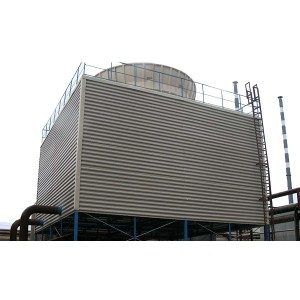 Induced Draft Cooling Towers with Rectangular Appearance