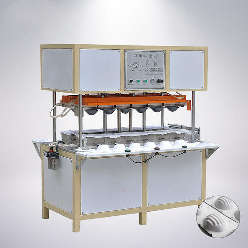 Semi-automatic high speed N95 automatic Cup face mask making machine