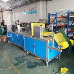 China Collaborative Industrial Robots Suppliers - Doctor cap-manufacturing machine – ICT