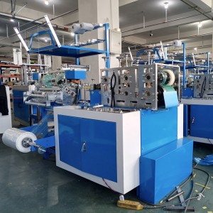 factory Outlets for Food Tray Wrapping Machine - Fully Automatic Plastic Shoe Cover Making Machine – ICT