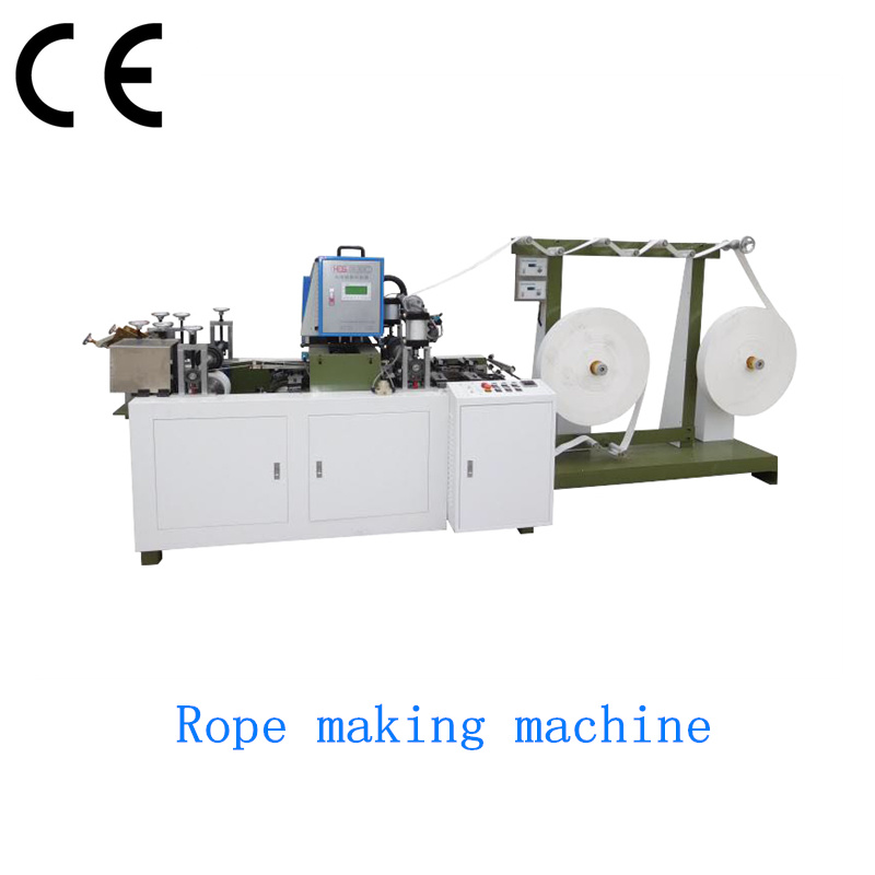 Automatic Patch Paper Bag Rope Making Machine