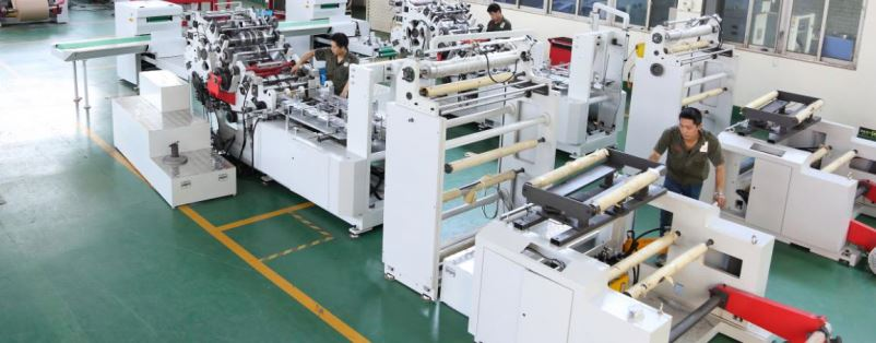 Factory Direct Mechanical Paper Bag Production Flexo Printing Machine