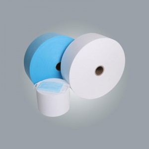 High Quality AAA SS white or blue pp spunbonded nonwoven fabric