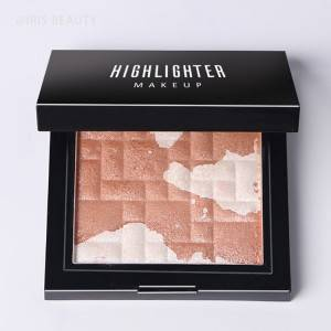 vegan highlighter private label makeup custom highlighter makeup private oem highlighter palette