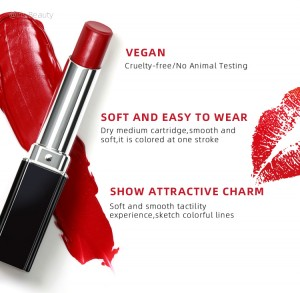 wholesale lip stick custom logo vegan velvet lip stick private label lipstick low moq makeup lip stick