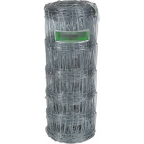 High Tensile Field Wire Fence , 12.5 Gauge Galvanized Wire Metal Deer Fencing
