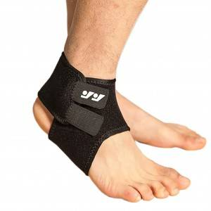 Double compression ankle strap