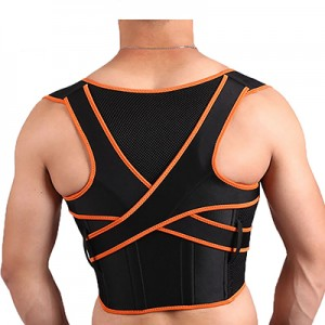 Cross traction posture corrector