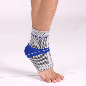 Silicone nylon ankle support