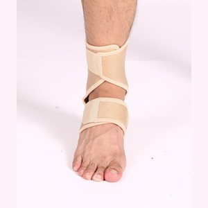 Double pressure ankle support