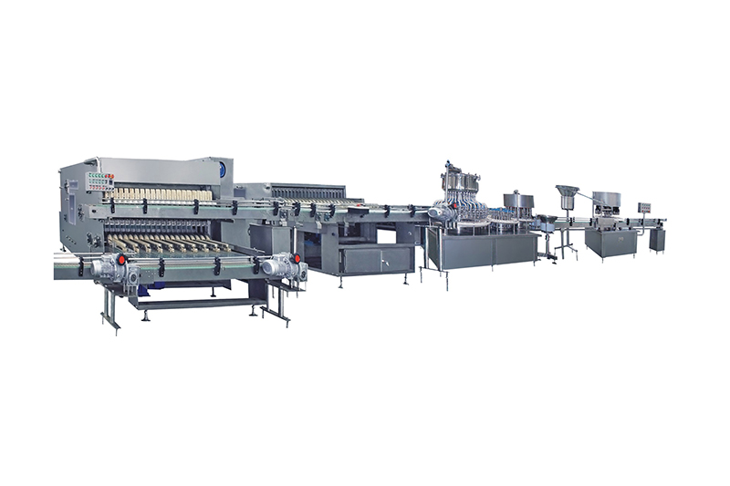 Glass Bottle IV Solution Production Line Featured Image
