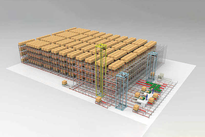 Automated Warehouse System Featured Image