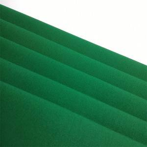 Green jersey knit fabric for woman's pants