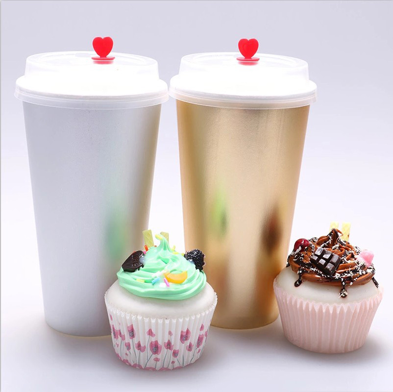 Coffee milk tea paper cup