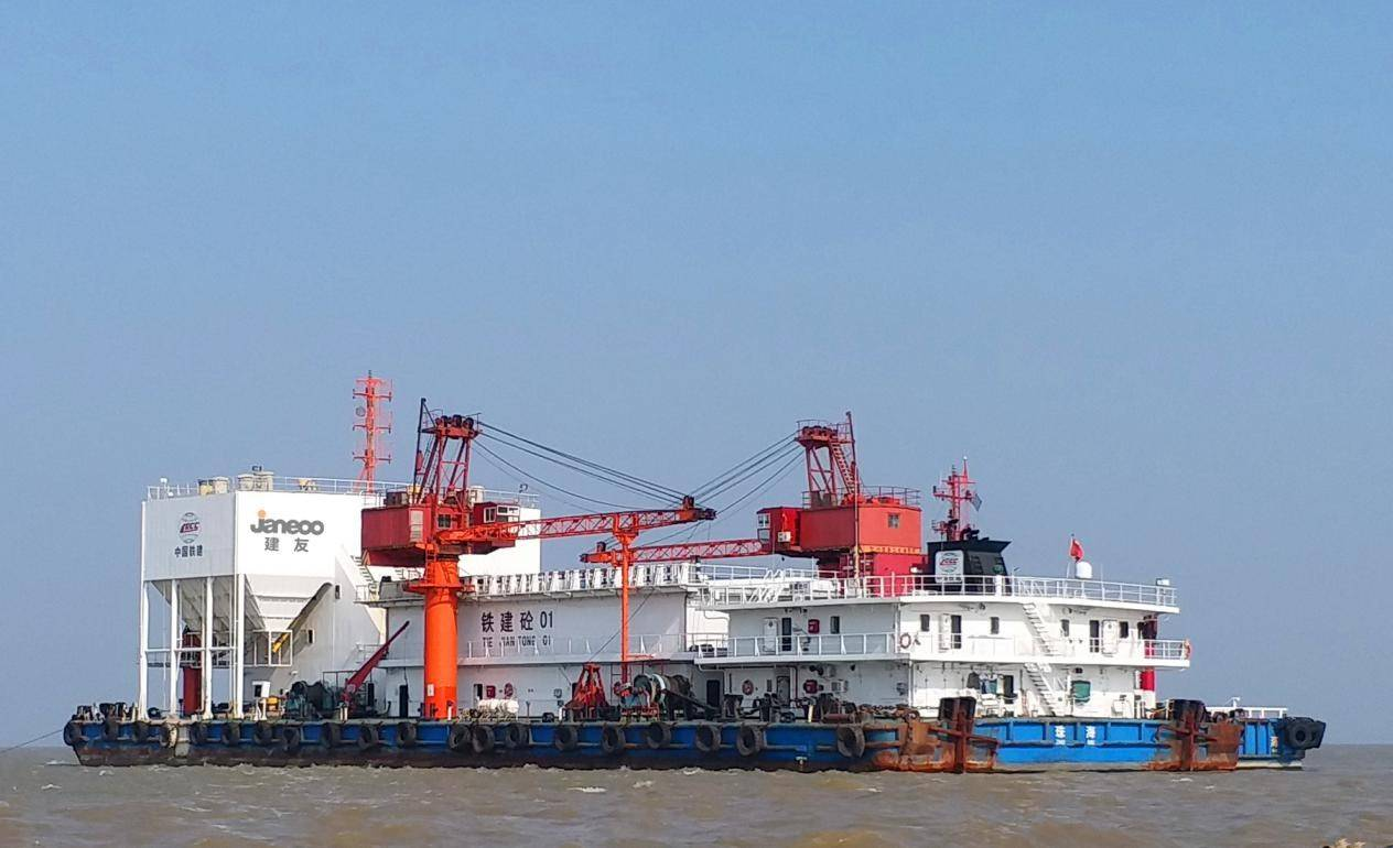 Shantui Janeoo's marine mixing equipment renovation project is about to help the construction of Macau cross-sea bridge
