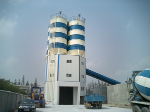 D series cement silo top type SjHZS120D
