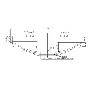 High quality china manufacturer SUP9 steel leaf spring for trailer