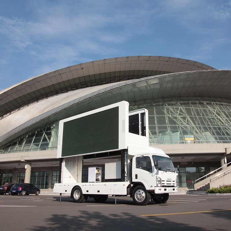 Introduction to the features of mobile stage trucks