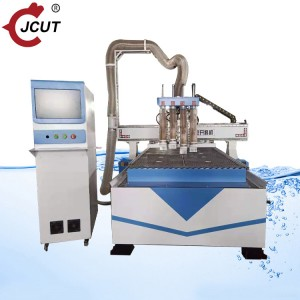 Economic four process R4 wood cutting machine