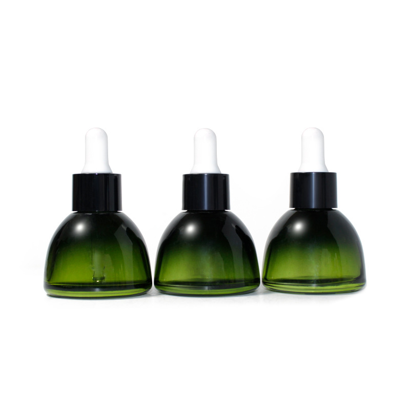30ml dark essential oil dropper bottle cosmetic packaging Featured Image