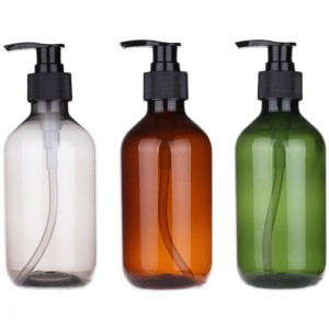 factory stock wholesale 250ml/500ml shampoo lotion glass pump bottle
