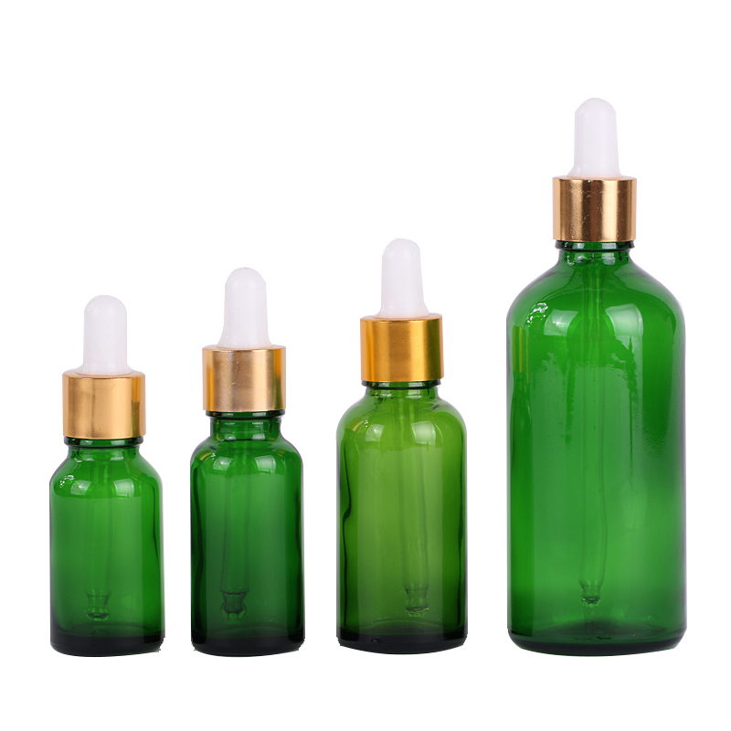 50ml color essential oil skin care glass dropper bottle Featured Image