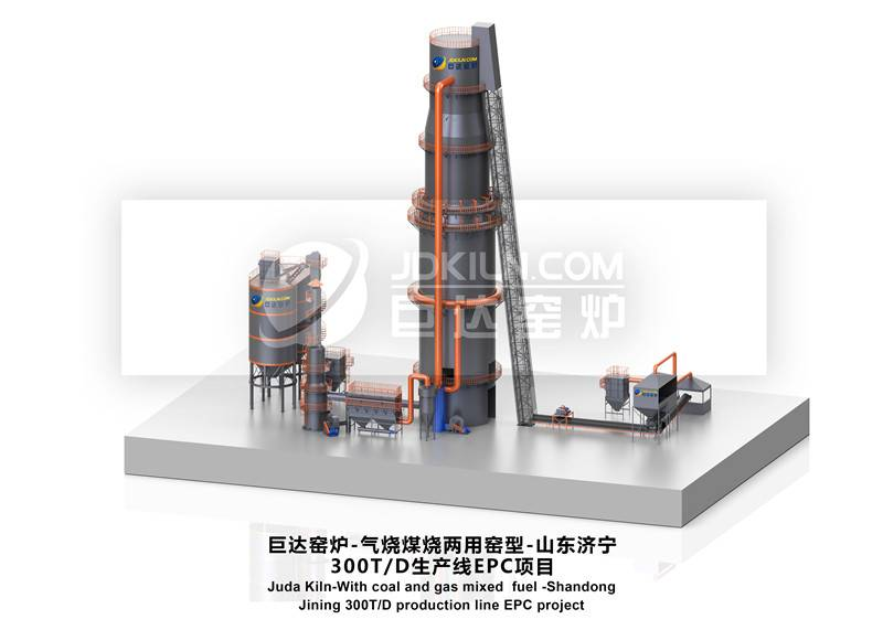 Juda kiln -300T/D production line -EPC project