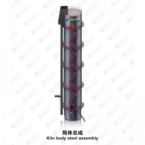 Kiln Body Steel Assembly