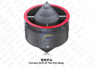 Furnace Grill Of The Kiln Body