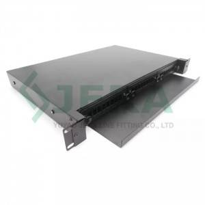 19 rack mount fiber optic distribution frame 1U-24-SC-S